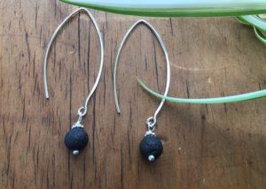 diffuser jewelry, lava diffuser jewelry, lava earrings